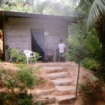 The house of the first person that I led to Christ in Honduras.